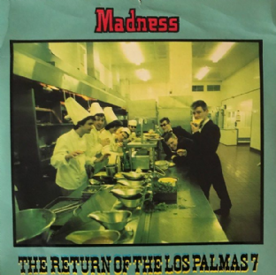 "Madness ‎- The Return Of The Los Palmas 7 (7"") (VG-/G+)"